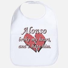 Alonso broke my heart and I hate him Bib