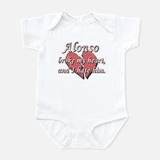 Alonso broke my heart and I hate him Infant Bodysu
