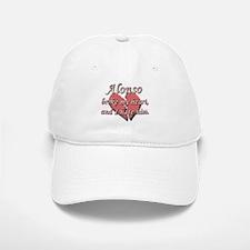 Alonso broke my heart and I hate him Baseball Baseball Cap