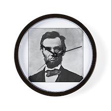 Abraham Lincoln Portrait Wall Clock