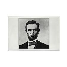 Abraham Lincoln Portrait Rectangle Magnet (10 pack
