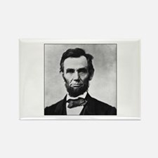 Abraham Lincoln Portrait Rectangle Magnet