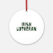 Irish Lutheran Ornament (Round)