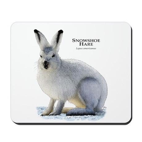 Snowshoe Hare Mousepad