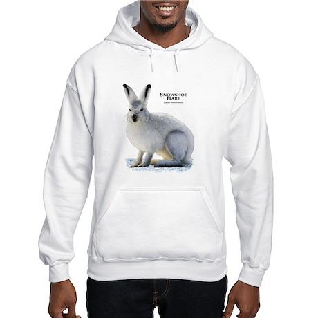 Snowshoe Hare Hooded Sweatshirt