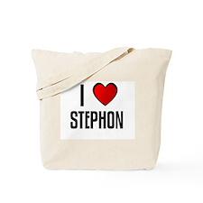 I LOVE STEPHON Tote Bag