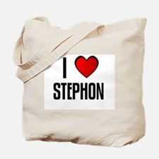I LOVE STEPHON Tote Bag