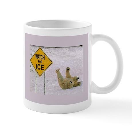 Watch for Ice Mug