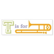 Tis for Trombone Bumper Bumper Sticker