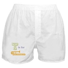 Tis for Trombone Boxer Shorts