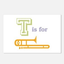 Tis for Trombone Postcards (Package of 8)