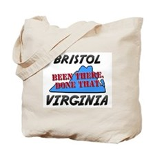 bristol virginia - been there, done that Tote Bag