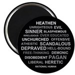 "Rational Human 2.25"" Magnet (10 pack)"