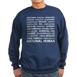 Rational Human Sweatshirt (dark)