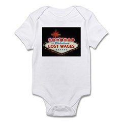 LOST WAGES Infant Bodysuit