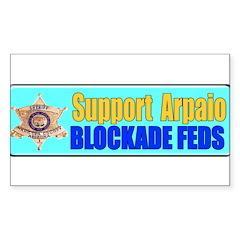 Sheriff Joe Rectangle Sticker 50 pk)