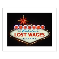LOST WAGES Posters