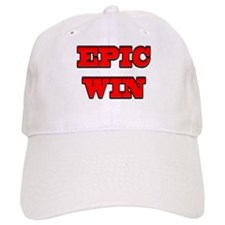 Epic Win Baseball Cap
