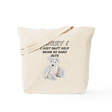WHITE CUTE Tote Bag