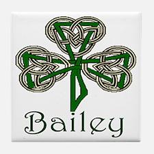 Bailey Shamrock Tile Coaster