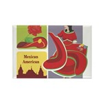 Mexico Rectangle Magnet (100 pack)