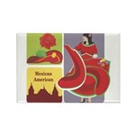 Mexico Rectangle Magnet (10 pack)