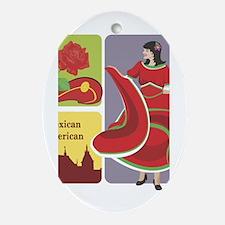Mexico Oval Ornament