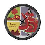 Mexico Large Wall Clock
