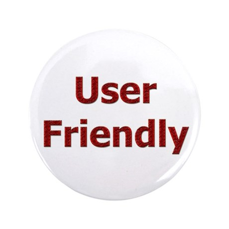 """User Friendly 3.5"""" Button (100 pack)"""