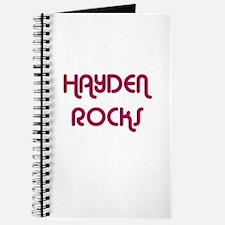 HAYDEN ROCKS Journal