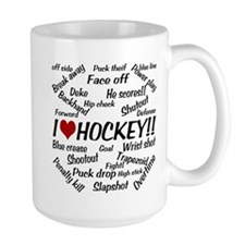 I Love Hockey Mug