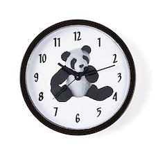 PANDA KIDS Wall Clock /10 inch