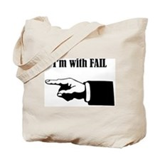 Leftie Fail Tote Bag