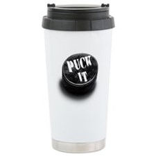 Cute Hockey fan Travel Mug
