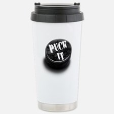 Unique Ice skating hockey Travel Mug