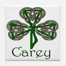 Carey Shamrock Tile Coaster