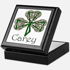 Carey Shamrock Keepsake Box