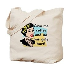 Coffee Freak Tote Bag