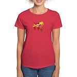 Chinese Women's Dark T-Shirt