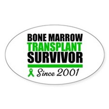 BMT Survivor Since '01 Oval Decal