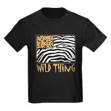Cheetah & Zebra Wild Thing T