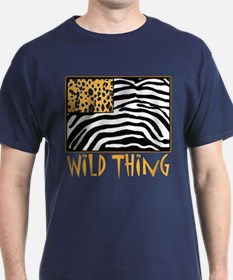 Cheetah & Zebra Wild Thing T-Shirt