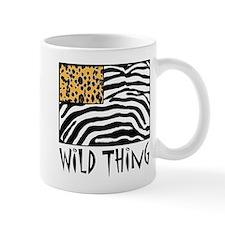 Cheetah & Zebra Wild Thing Mug