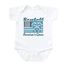 Baseball America's Game Infant Bodysuit