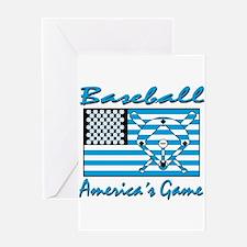 Baseball America's Game Greeting Card
