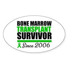 BMT Survivor Since '06 Oval Decal