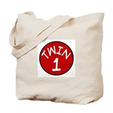 Twin 1 Tote Bag