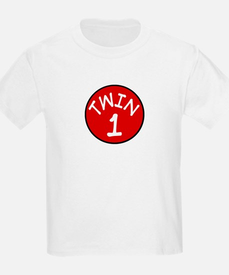 Twin 1 Kids T-Shirt