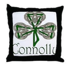 Connolly Shamrock Throw Pillow