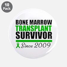 """BMT Survivor Since '09 3.5"""" Button (10 pack)"""